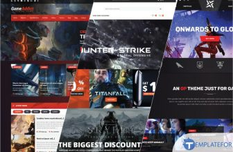 15+ Best Gaming PHP Website Templates 2021