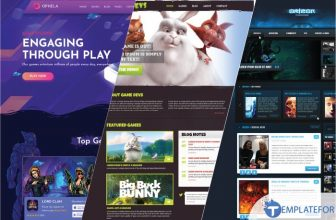 30+ Best Gaming Website Templates & Themes 2021