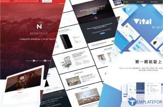 40+ Best HTML & CSS UI Kits – Free Download