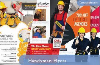 20+ Best Handyman Flyer Templates & Designs 2021