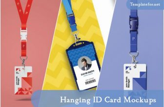 30+ Hanging ID Card Mockups For Professional Identity