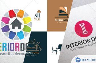 25+ Awesome Interior Design Logo Templates 2021