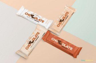 Amazing Chocolate Bar Branding Mockup