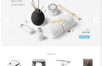30+ Best E-commerce Bootstrap Website Templates 2020