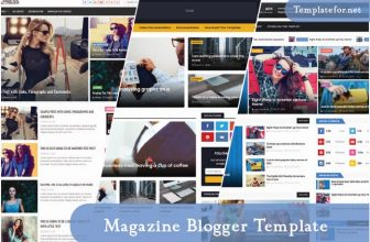 40+ Best Responsive Magazine Blogger Templates 2021