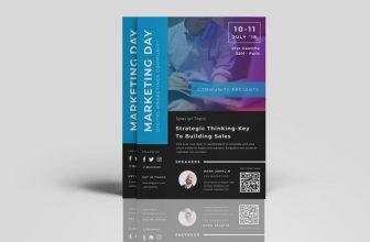 20+ New Marketing Flyer Templates – PSD, AI, EPS Format