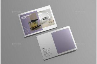 35+ Modern Portfolio Brochure Templates 2018
