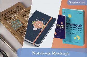45+ Best Notebook Mockup Templates 2020