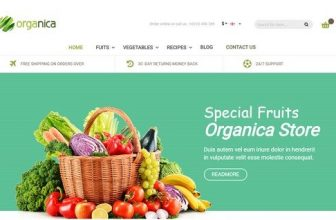 26+ Best Food Store Magento Themes 2018