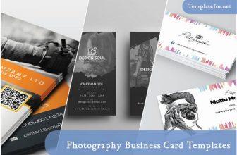 25+ Creative Photography Business Card Templates 2020