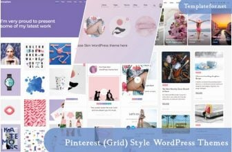 25+ Best Pinterest (Grid) Style WordPress Themes 2020