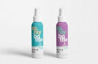 20+ Best Spray Bottle Mockup Templates 2020