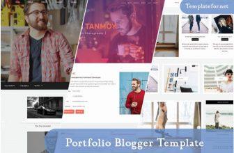 25+ Best Portfolio Blogger Templates & Themes 2021