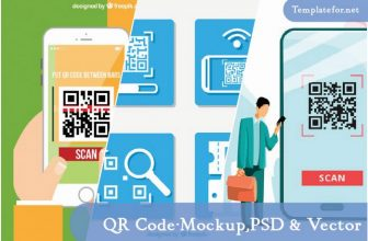 24+ Best QR Code Mockup Templates 2020