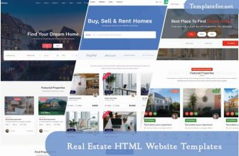 52+ Best Real Estate HTML Website Templates 2020