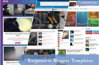 100+ Best Free Responsive Blogger Templates 2020