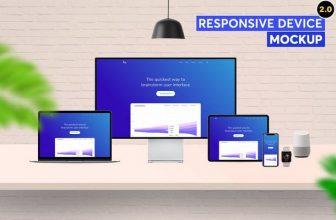 30+ Best Responsive Mockup Templates 2020