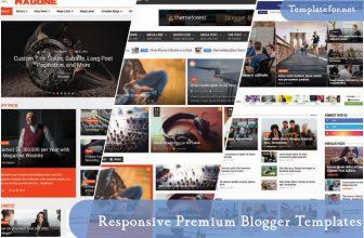 40+ Best Responsive Premium Blogger Templates 2020