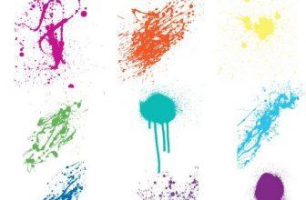 28+ Free Adobe Illustrator Splatter Brushes and Vector Sets