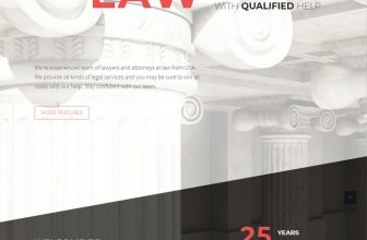 30+ Best Lawyer WordPress Themes For Law Firms, Attorneys 2020
