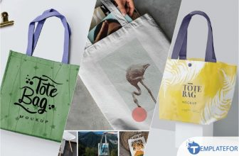 25+ Top Tote Bag Mockup Templates 2021