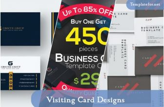 30+ Best Visiting Card Designs Templates – 2020