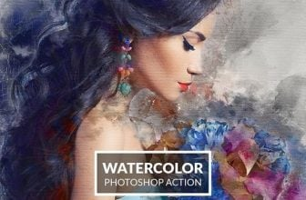 25+ Top Watercolor Photoshop Actions 2019