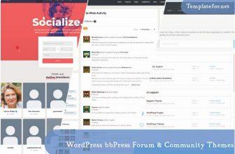 30+ Best WordPress bbPress Forum & Community Themes 2020