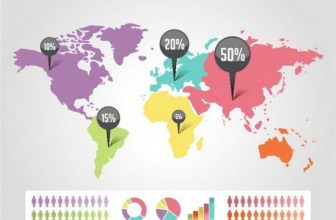 24+ Best Maps Vectors And Icons For Map Makers