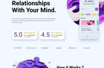 64+ Best One Page Website Templates 2020